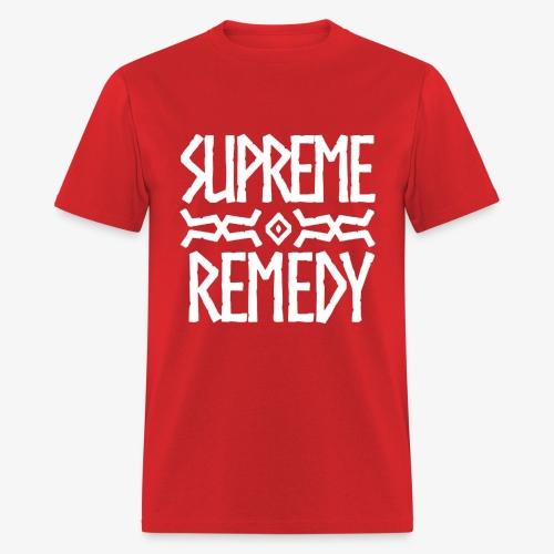 Red Logo Men's T - Men's T-Shirt
