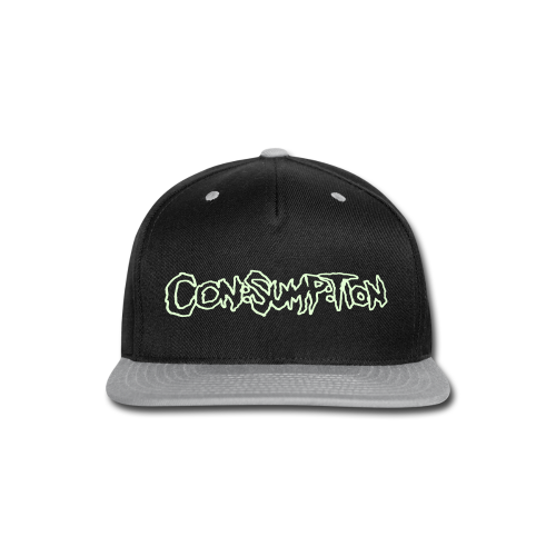 Con:Sump:Tion Glow-In-The-Dark Snapback - Snap-back Baseball Cap