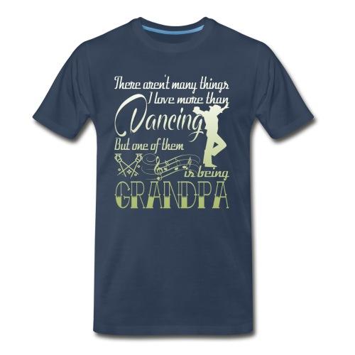 Dancing Grandpa - Men's Premium T-Shirt