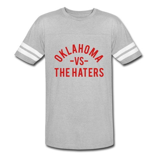 Oklahoma vs. the Haters - Vintage Sport T-Shirt