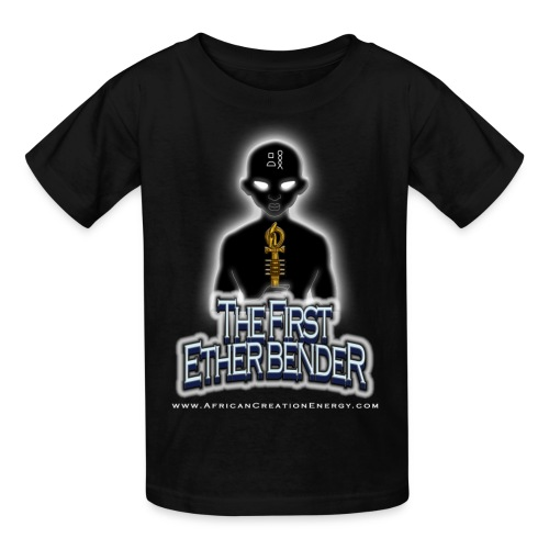 AFRICAN CREATION ENERGY ETHER BENDER YOUTH T-SHIRT - Kids' T-Shirt