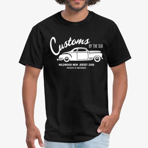 Customs by the Sea 2018 - Black - Men's T-Shirt