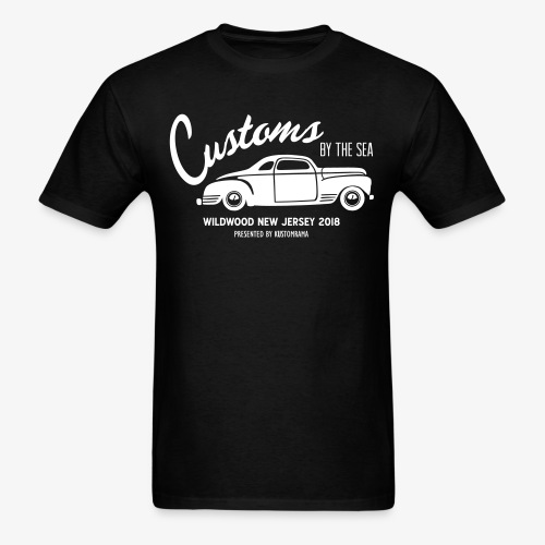 Customs by the Sea 2018 - Black - Men's T-Shirt