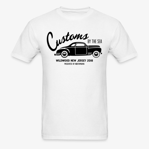 Customs by the Sea 2018 - White - Men's T-Shirt