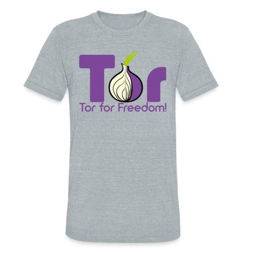 Tor for Freedom - Unisex Tri-Blend T-Shirt