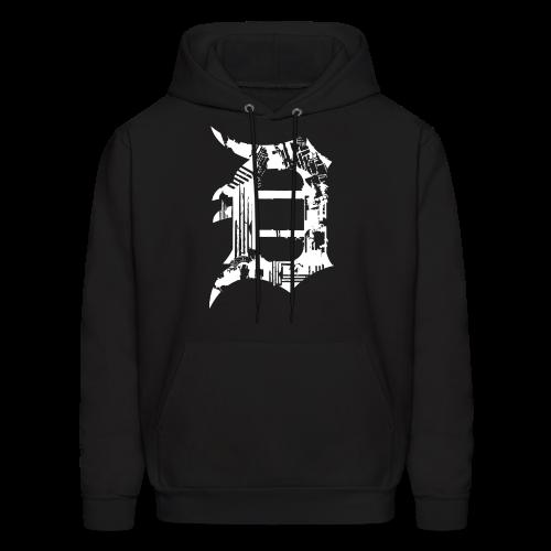 Detroit Grunge - Men's Hoodie