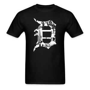 Detroit Grunge - Men's T-Shirt