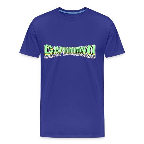 CaptainOmnii Pinched Tee - Men's Premium T-Shirt