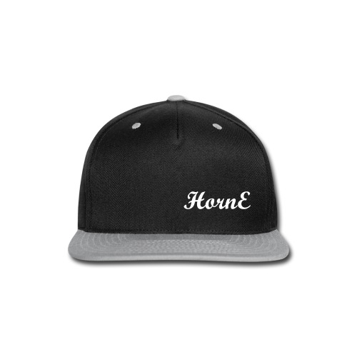 HornE Hat - Snap-back Baseball Cap