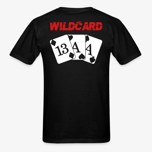 Wildcard Custom Shirt - Mens - Men's T-Shirt