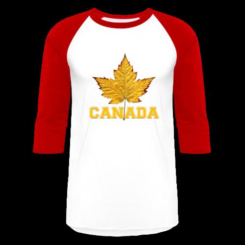 Canada Varsity Souvenir Baseball Jeresy - Baseball T-Shirt