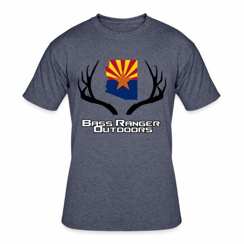 Mule Deer Antlers BRO - Men's 50/50 T-Shirt