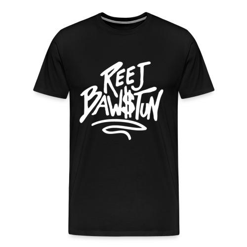 Reej Bawstun Logo - Men's Premium T-Shirt
