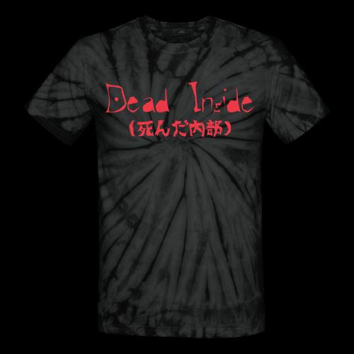 Dead Inside - Unisex Tie Dye T-Shirt