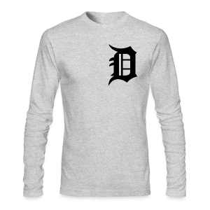 The D - Men's Long Sleeve T-Shirt by Next Level