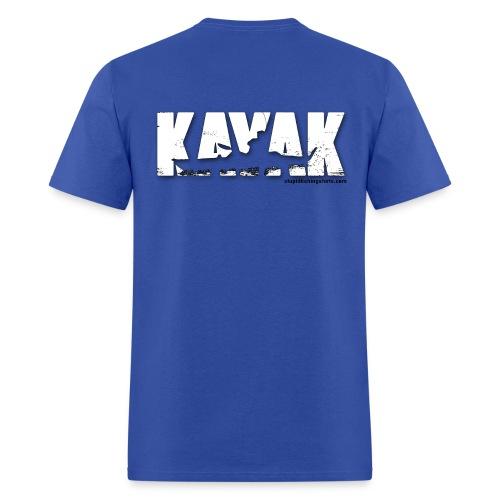 Kayak on Back - Men's T-Shirt