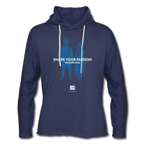 Shirts of Experience: U2start.com (lightweight hoodie) - Unisex Lightweight Terry Hoodie