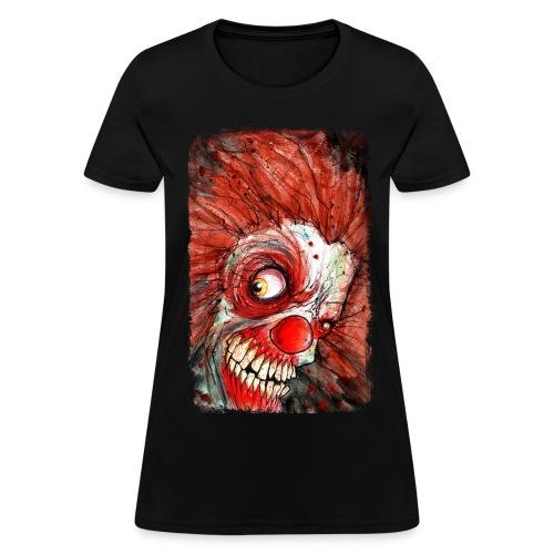 zombie clown - Women's T-Shirt