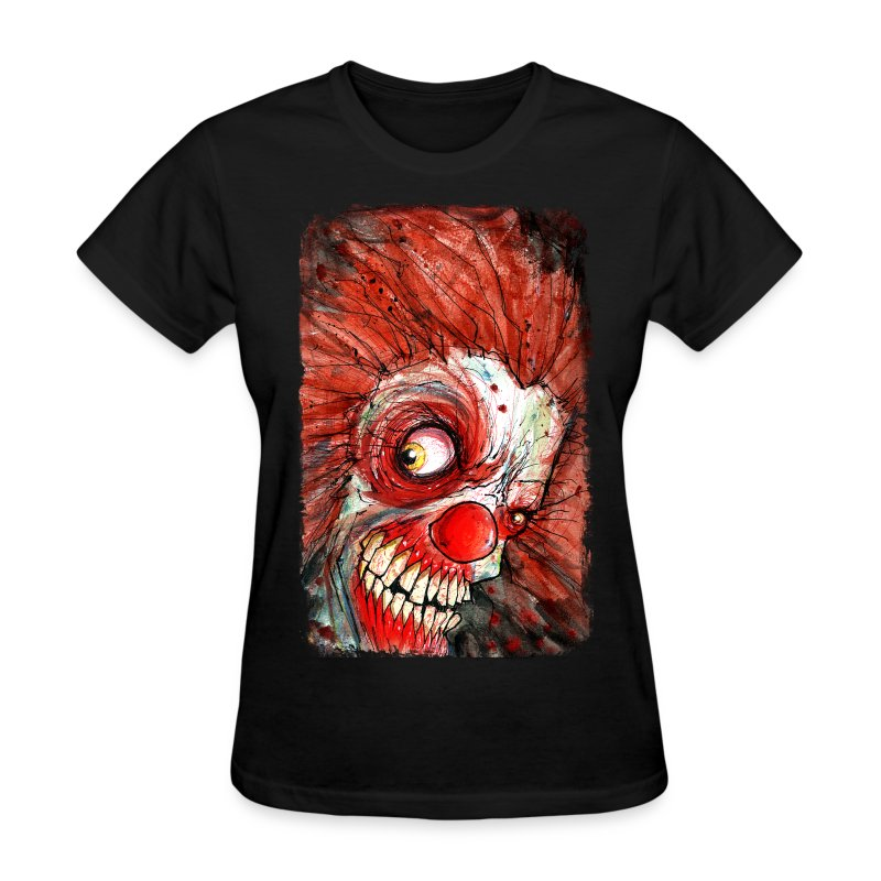 zombie clown - Women's T-Shirt
