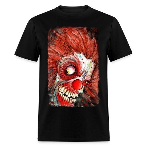 zombie clown - Men's T-Shirt