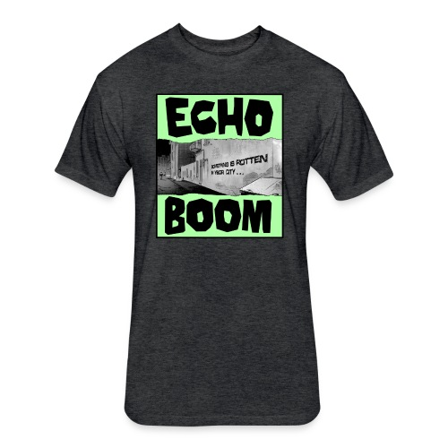Echo Boom - Fitted Cotton/Poly T-Shirt by Next Level