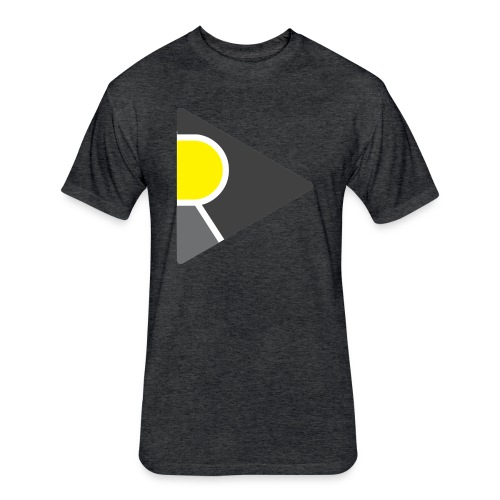 Relevant Logo Premium - Fitted Cotton/Poly T-Shirt by Next Level