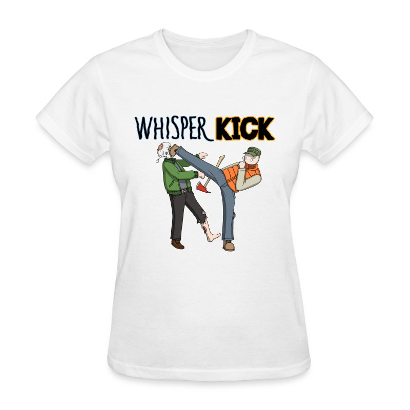 Women can Whisper Kick too! - Women's T-Shirt