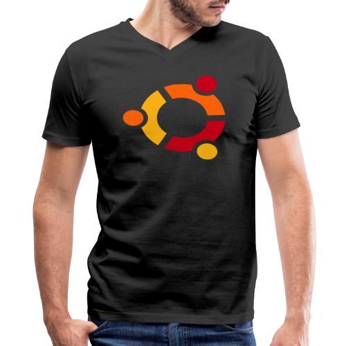 Ubuntu - Men's V-Neck T-Shirt by Canvas