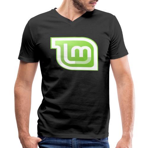 Mint - Men's V-Neck T-Shirt by Canvas