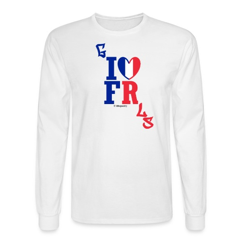 May as Long-Sleeved Live France and its Cheese - Men's Long Sleeve T-Shirt