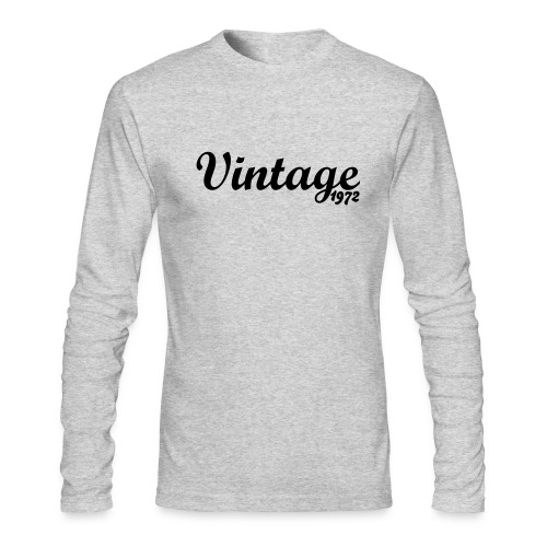 Vintage '72 Long for Men - Men's Long Sleeve T-Shirt by Next Level