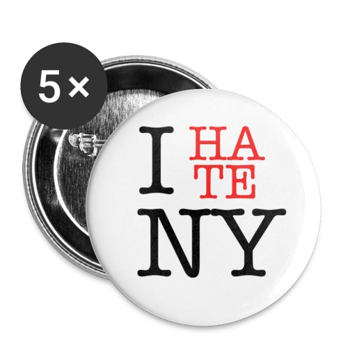 I HATE NY - Small Buttons