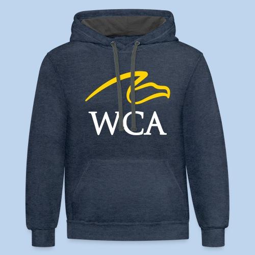WCA Contrast Hoodie-Navy - Contrast Hoodie