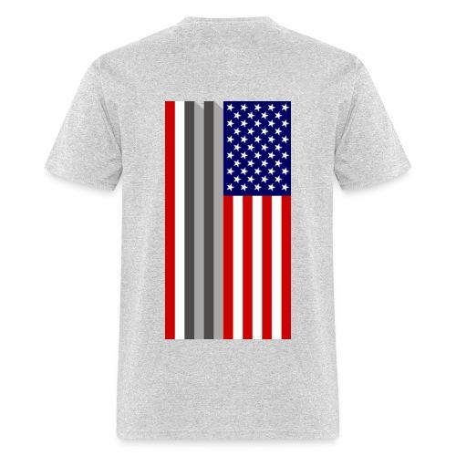Twin Towers Flag - Men's T-Shirt