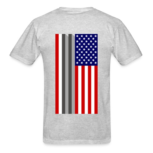 Twin Towers Flag - Men's T-Shirt