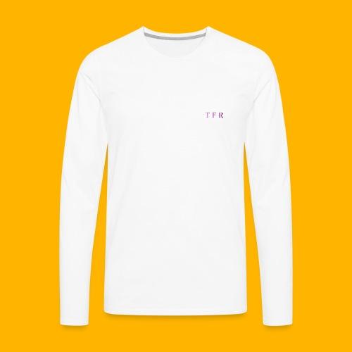 TEAM FREE RUN Jersey (ADULT WHITE) - Men's Premium Long Sleeve T-Shirt