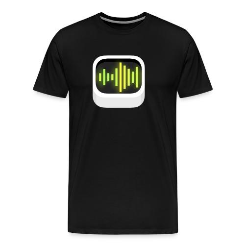 Black Audiobus logoshirt, men's - Men's Premium T-Shirt