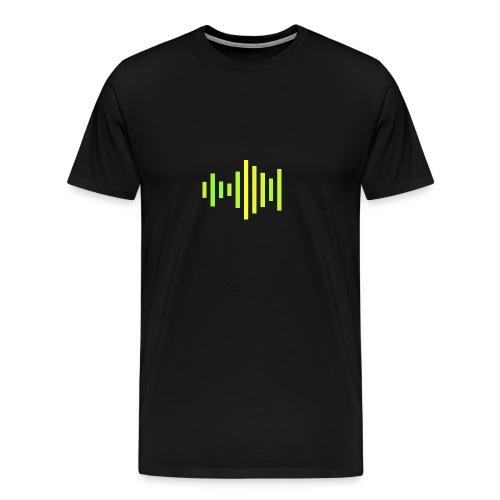 Simple AB logo, mens - Men's Premium T-Shirt