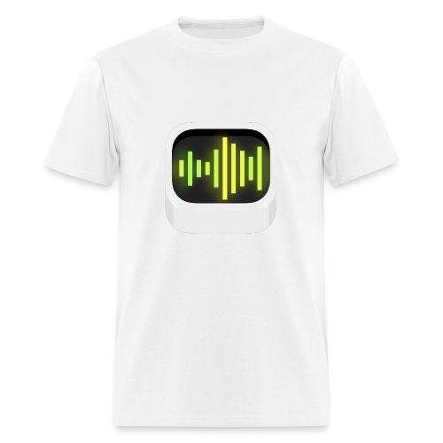 White Audiobus logoshirt, men's - Men's T-Shirt