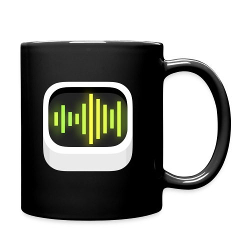 AB mug, black - Full Color Mug