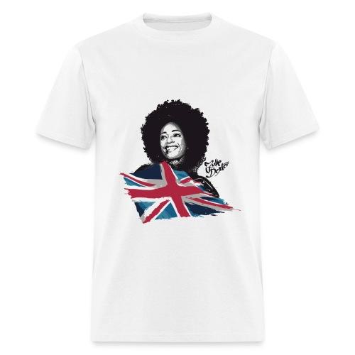 Julie Dexter UK Flag - Men's T-Shirt - Men's T-Shirt