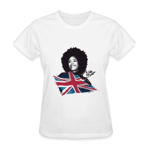 Julie Dexter UK Flag - Women's T-Shirt - Women's T-Shirt
