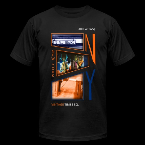 VINTAGE TIMES SQ - U7NY - Men's Fine Jersey T-Shirt