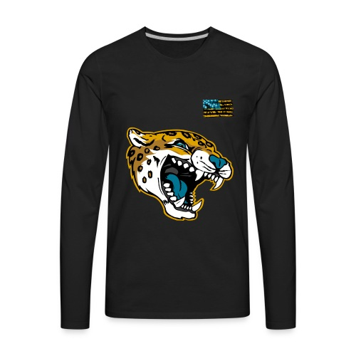 Gold Cat - Men's Premium Long Sleeve T-Shirt