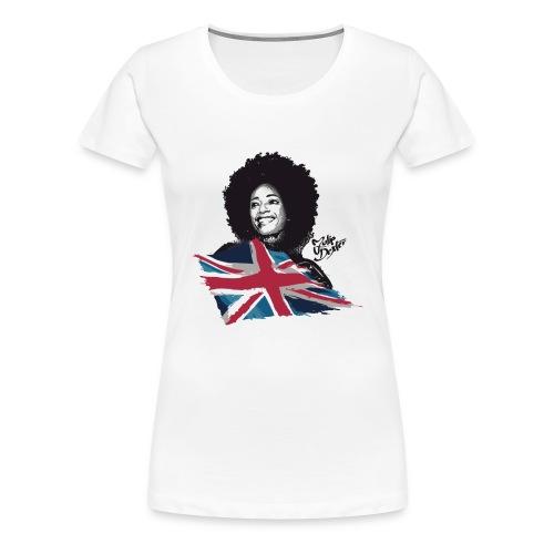 Julie Dexter UK Flag - Women's Premium T-Shirt - Women's Premium T-Shirt