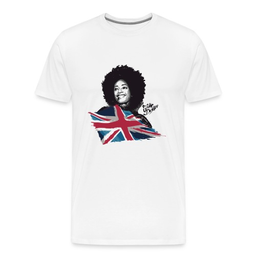 Julie Dexter UK Flag - Men's Premium T-Shirt - Men's Premium T-Shirt
