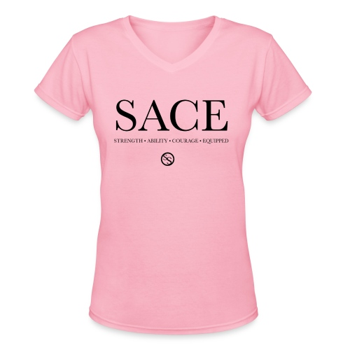 S.A.C.E. (V-Neck) - Women's V-Neck T-Shirt