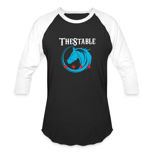 TheStable blue-red stars - Baseball T-Shirt