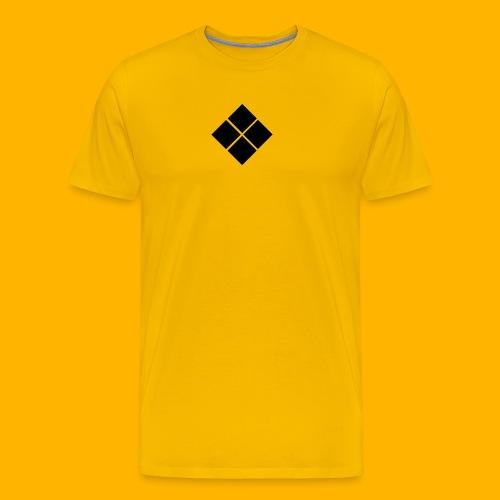 TEAM FREE RUN Jersey (YELLOW) - Men's Premium T-Shirt