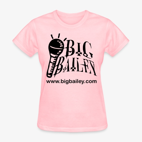 Big Bailey WOMENS's shirt ,black art - Women's T-Shirt